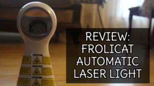 REVIEW: PetSafe Bolt Interactive Laser Cat Toy (Laser Cat Toy)