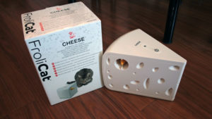 REVIEW: PetSafe/Frolicat Automatic Cheese Cat Toy